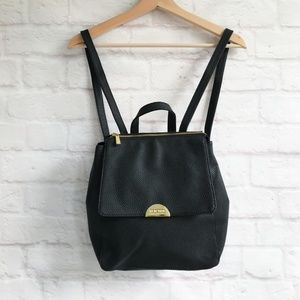 NWT Kenneth Cole Reaction Black Maple Backpack